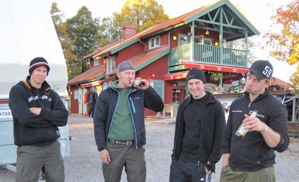 Alexander Ek, Viktor, Simon, och Henke