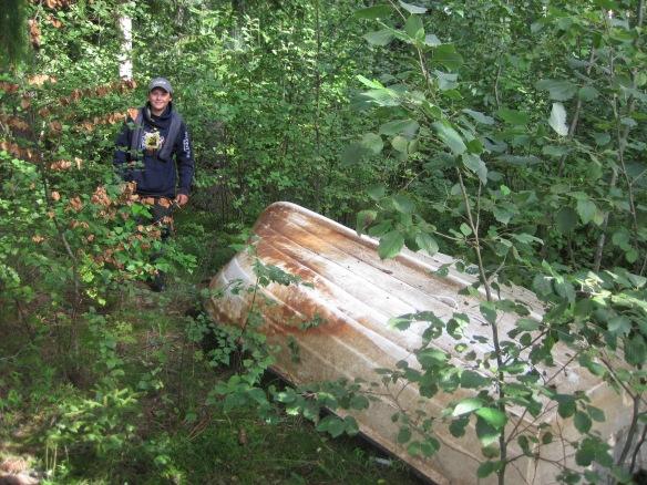 Båten i lövskogen
