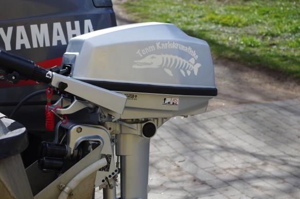 Motor med logga