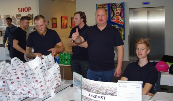Niklas och hans team
