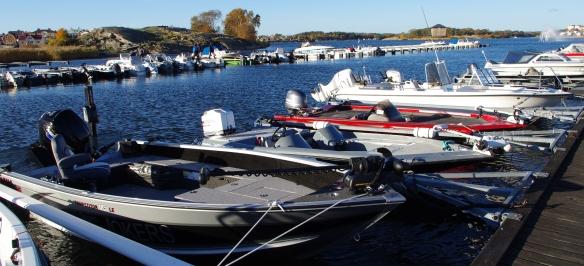 Sportfiskebåtar