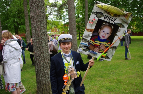 Willy tar studenten